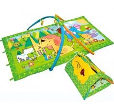Игровой коврик с палаткой Королевство зверей - 2/308