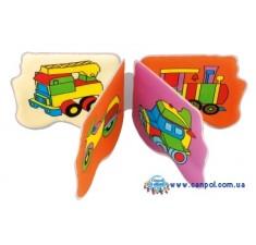 Книжка-игрушка мягкая с пищалкой Самолет - 2/710