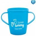 """Кружка тренировочная с ручками """"I love Mummy/Daddy"""" - 31/208"""
