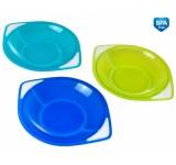 Набор детских пластиковых тарелочек для мальчика, 3 шт. - 31/401/1