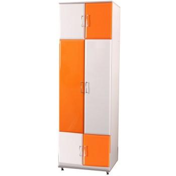 Шкаф с полками для одежды Пионер МДФ C