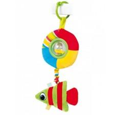 Плюшевая игрушка-погремушка Рыбка - 68/018