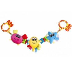 Игрушка-погремушка на коляску Разноцветный океан - 68/025