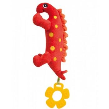 Плюшевая игрушка с пищалкой Динозаврик - 71/005