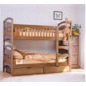 Кровать двухэтажная Карина с матрасами