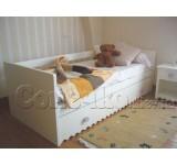 Детская кровать с ящиком Амелия М