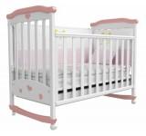 Детская кроватка Амурчик розовая