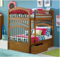 Двухъярусная кровать Артемон с ящиками и матрасами