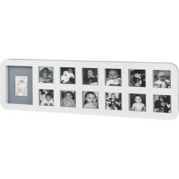 Рамка для фото Беби Арт 1-й год белая First Year Print Frame (34120085)