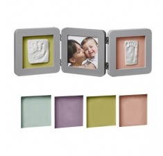 Рамка для фото Baby art Double Print Frame Grey (34120139)