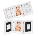 Рамочка для фотографий Беби Арт Double Print Frame white & black (34120070)