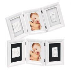 Рамочка для фотографий Беби Арт Double Print Frame white & black (34120070)