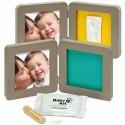 Рамка для фото малыша Беби Арт Print Frame taupe & azure/sun (34120096)