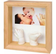 Рамка для фотографий Baby Art Photo Sculpture Frame natural (34120081)