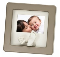Рамка для фото baby art Photo Sculpture Frame taupe (34120106)
