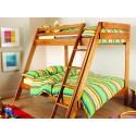 Деревянная двухъярусная кровать Берни
