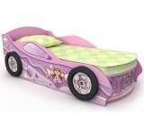 Кровать для девочки Машинка Briz Pink 6 розовая
