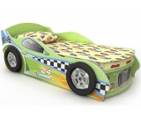 Детская кроватка Briz Driver 3 зеленая