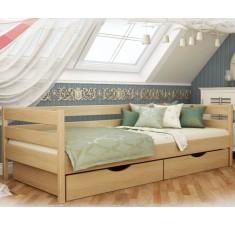 Детская кровать Камалия с задним бортиком