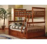 Двухъярусная кровать Буратино 17