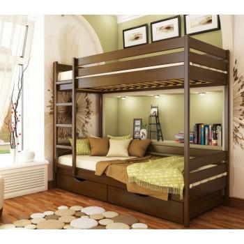 Двухъярусная детская кровать Дуэт