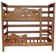 Детская двухъярусная кровать Элен