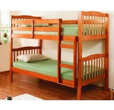 Деревянная двухъярусная кровать Эмин