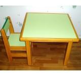 Комплект для детской комнаты (столик + 2 стульчика)