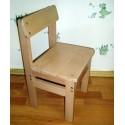 Комплект детских стульчиков из бука 4 штуки