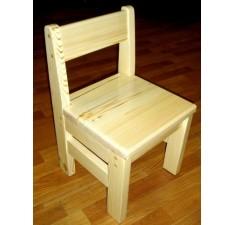 Комплект детских стульчиков из сосны 4 штуки