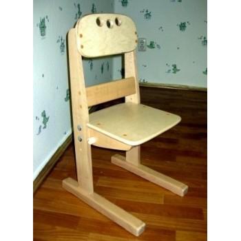 Комплект растущих стульчиков из бука 4 штуки