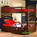 Деревянная двухьярусная кровать Артемон