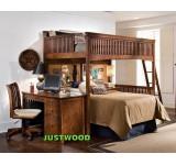 Двухъярусная кровать с бортиками Хоттабыч