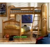 Детская двухярусная кровать Маугли