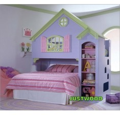 Кровать двухярусная Замок