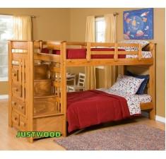 Двухуровневая детская кровать Авоська