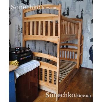 Детская двухэтажная кровать Карина Люкс