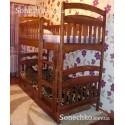 Двухъярусная кровать Карина Люкс с ящиками