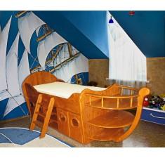 Детская кровать Кораблик