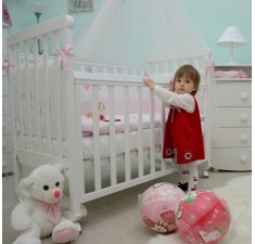 Детская кроватка Лапочка 2