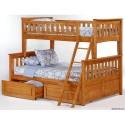 Двухьярусная кровать Буратино 18