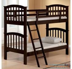 Детская двухярусная кровать Лапушка