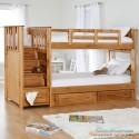 Детская двухярусная кровать Саванна Плюс 90