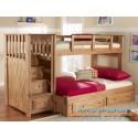 Детская двухярусная кровать Саванна Плюс 120