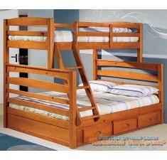 Детская двухярусная кровать Тим