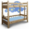 Детская двухярусная кровать Врунгель