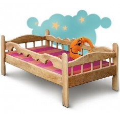 Детская кровать Сонечко из ясеня или дуба