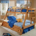 Трехместная двухъярусная кровать Раяна