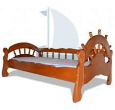Кровать детская из ясеня Бриз