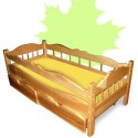 Детская кровать с бортиками Рио